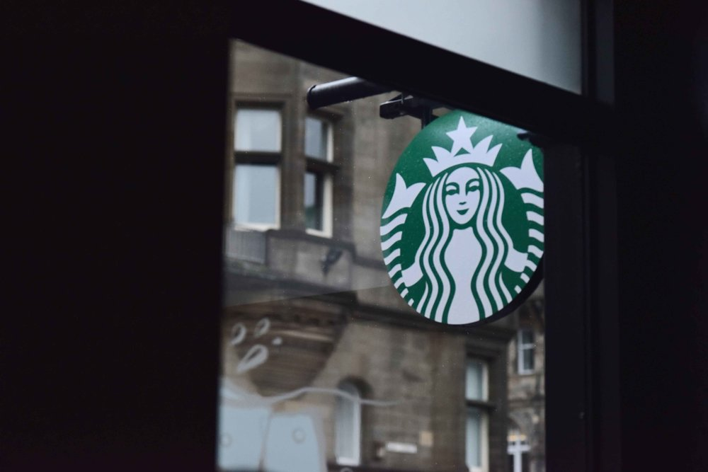 Starbucks, Edinburgh Old Town, Edinburgh, Scotland. Image©sourcingstyle.com