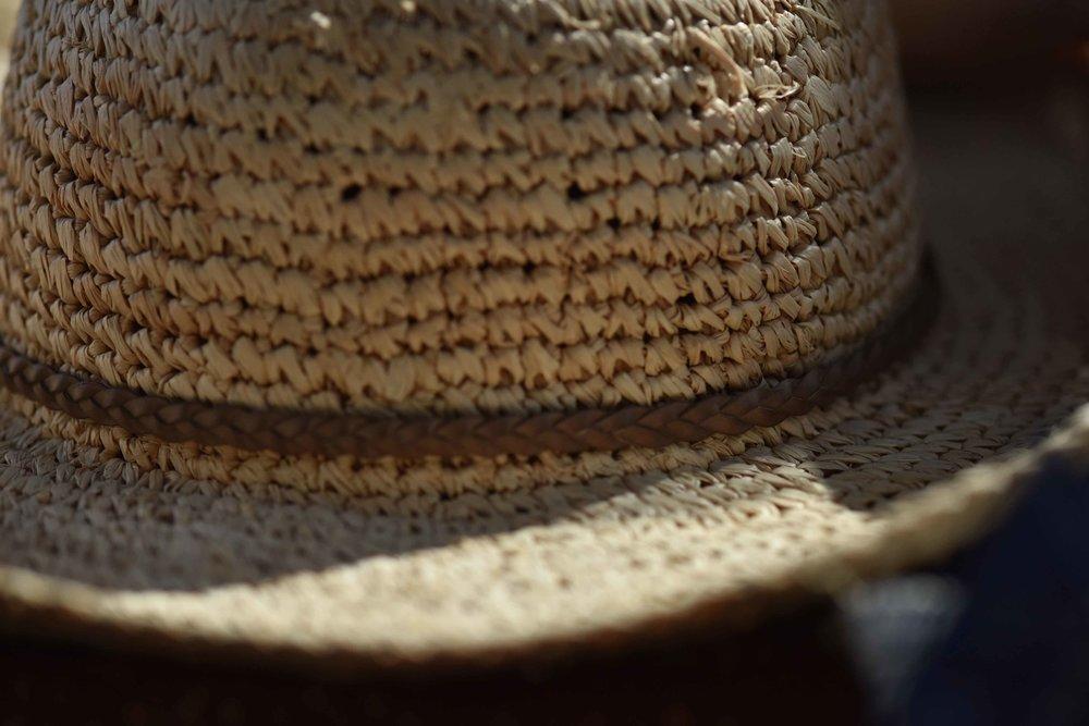 Marks & Spencer straw hat. Image©sourcingstyle.com