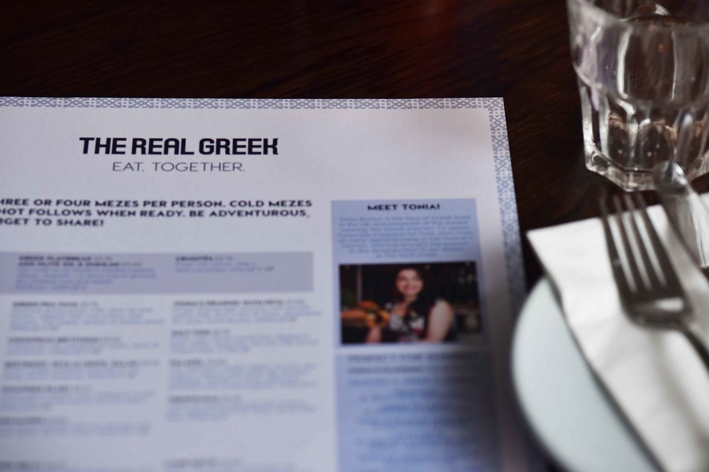 Real Greek restaurant, London. Image©sourcingstyle.com