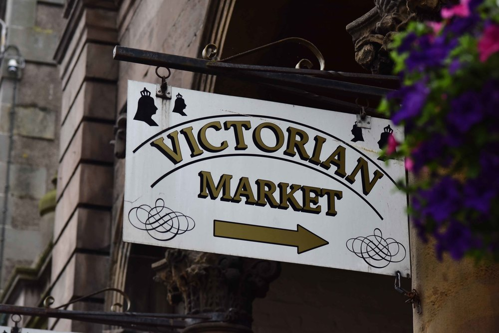 VIctoria market, Inverness, Scotland. Image©sourcingstyle.com