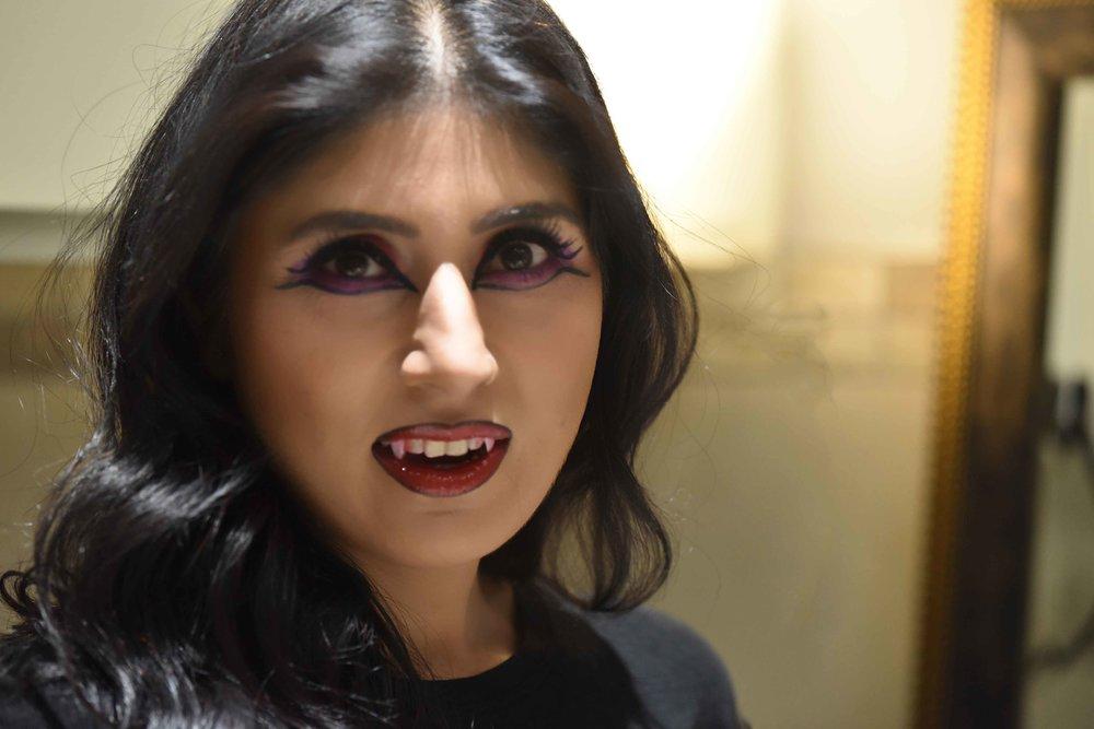 Halloween makeup tutorial, Ruchi K. Goenka, Image©sourcingstyle.com