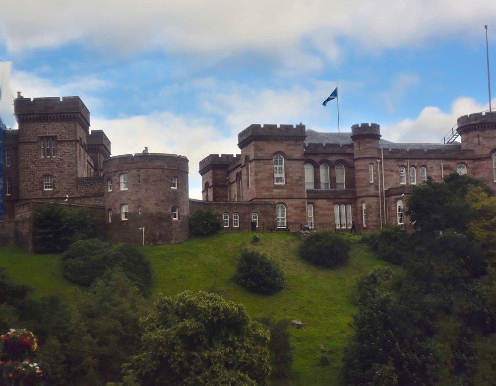 Inverness Castle, Inverness, Scotland. Image©sourcingstyle.com