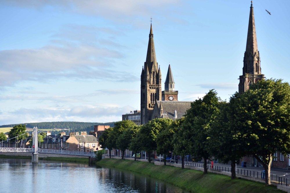 River Ness, Inverness, Scotland. Image©sourcingstyle.com