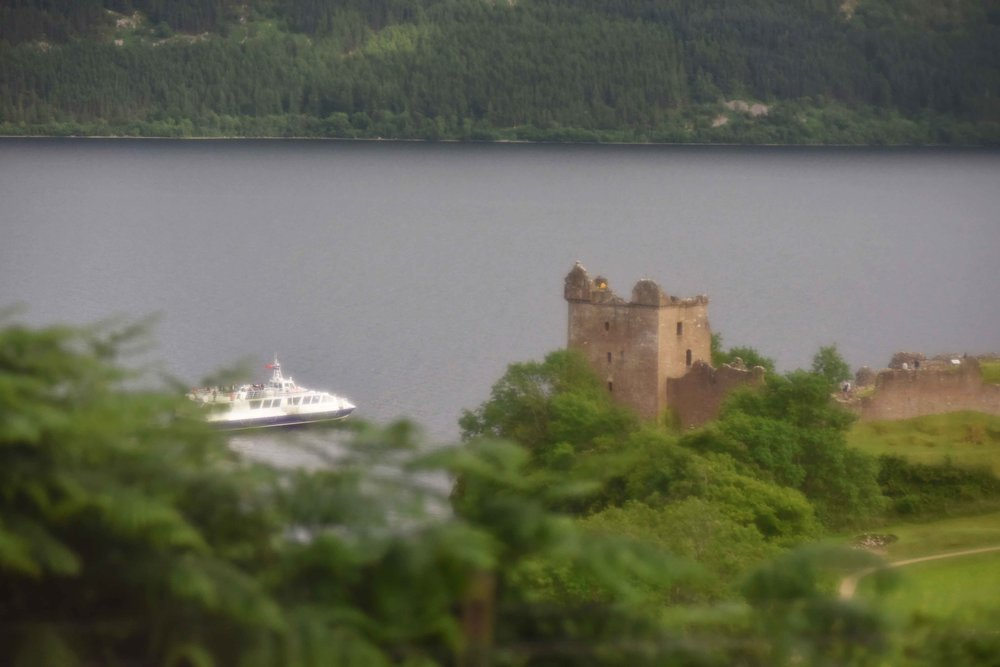 Urquhart Castle, Lochness, Scotland. Image©sourcingstyle.com