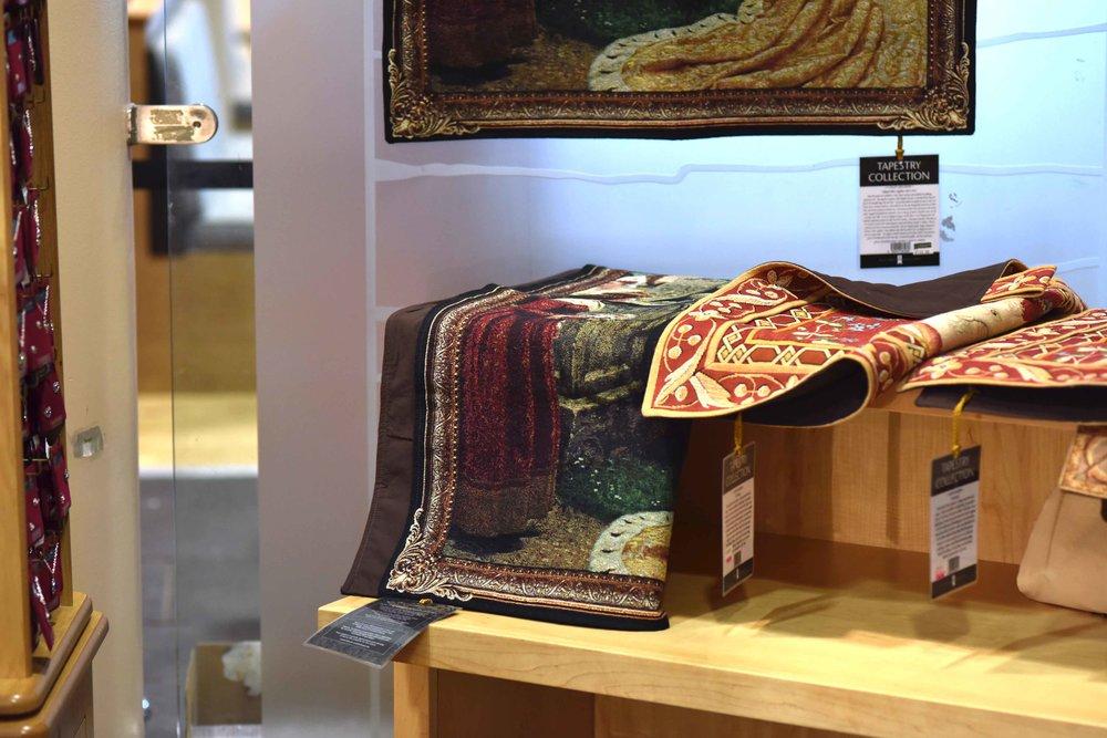 Souvenir shop, Urquhart Castle, Loch Ness, Scotland. Image©sourcingstyle.com