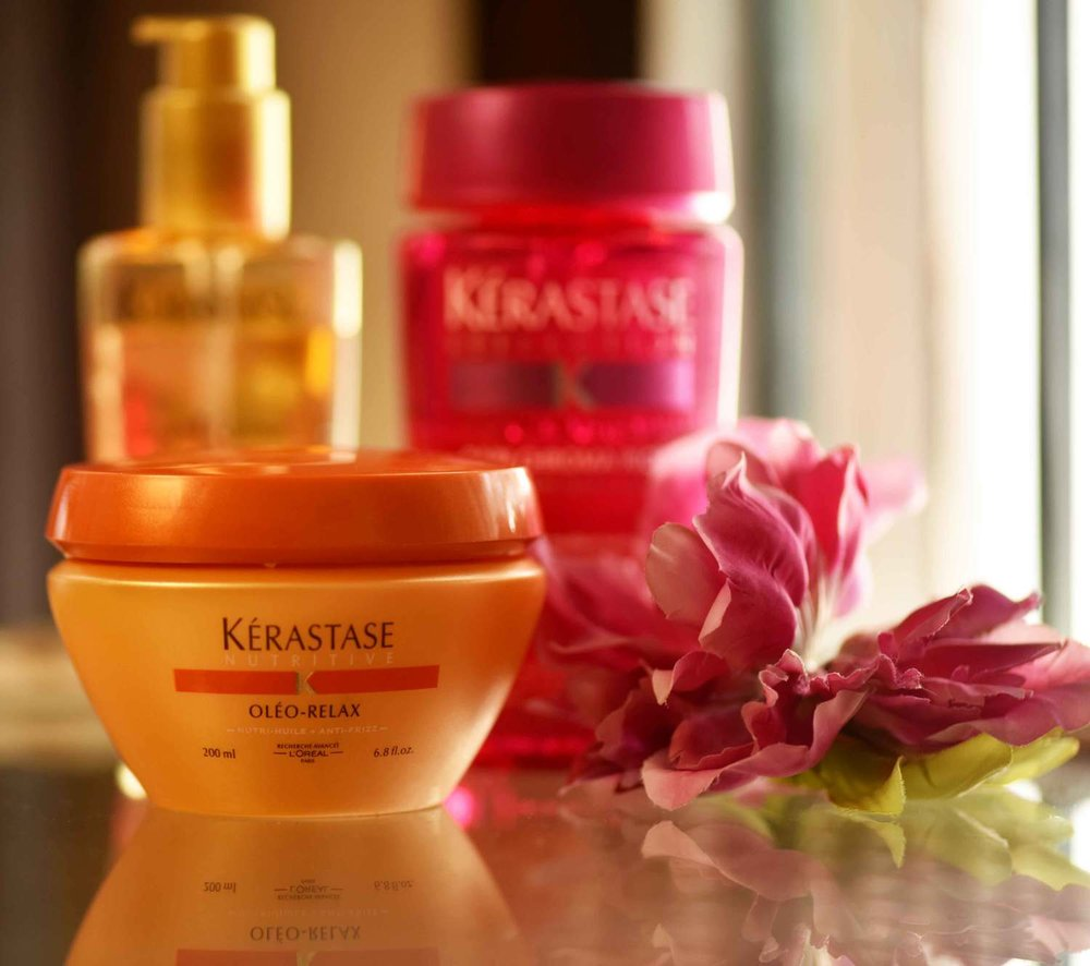 Kerastase hair care. Image©sourcingstyle.com