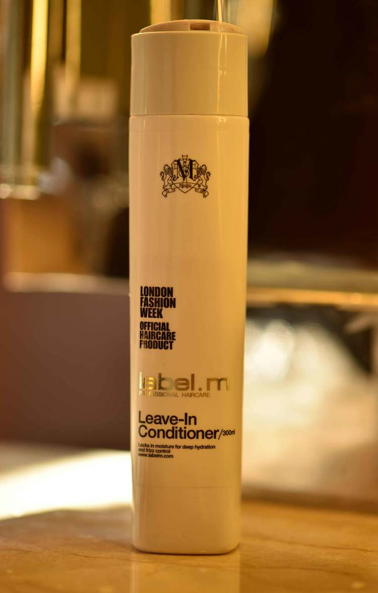 Label.m leave in conditioner. Image©sourcingstyle.com