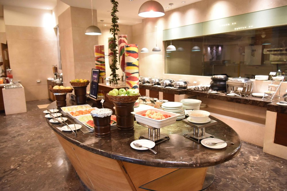 Radisson Blu Hotel, breakfast buffet, Ranchi, Jharkhand, India. Image©sourcingstyle.com.