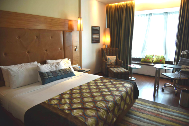Business Class room, Radisson Blu Hotel, Ranchi, Jharkhand, India. Image©sourcingstyle.com.