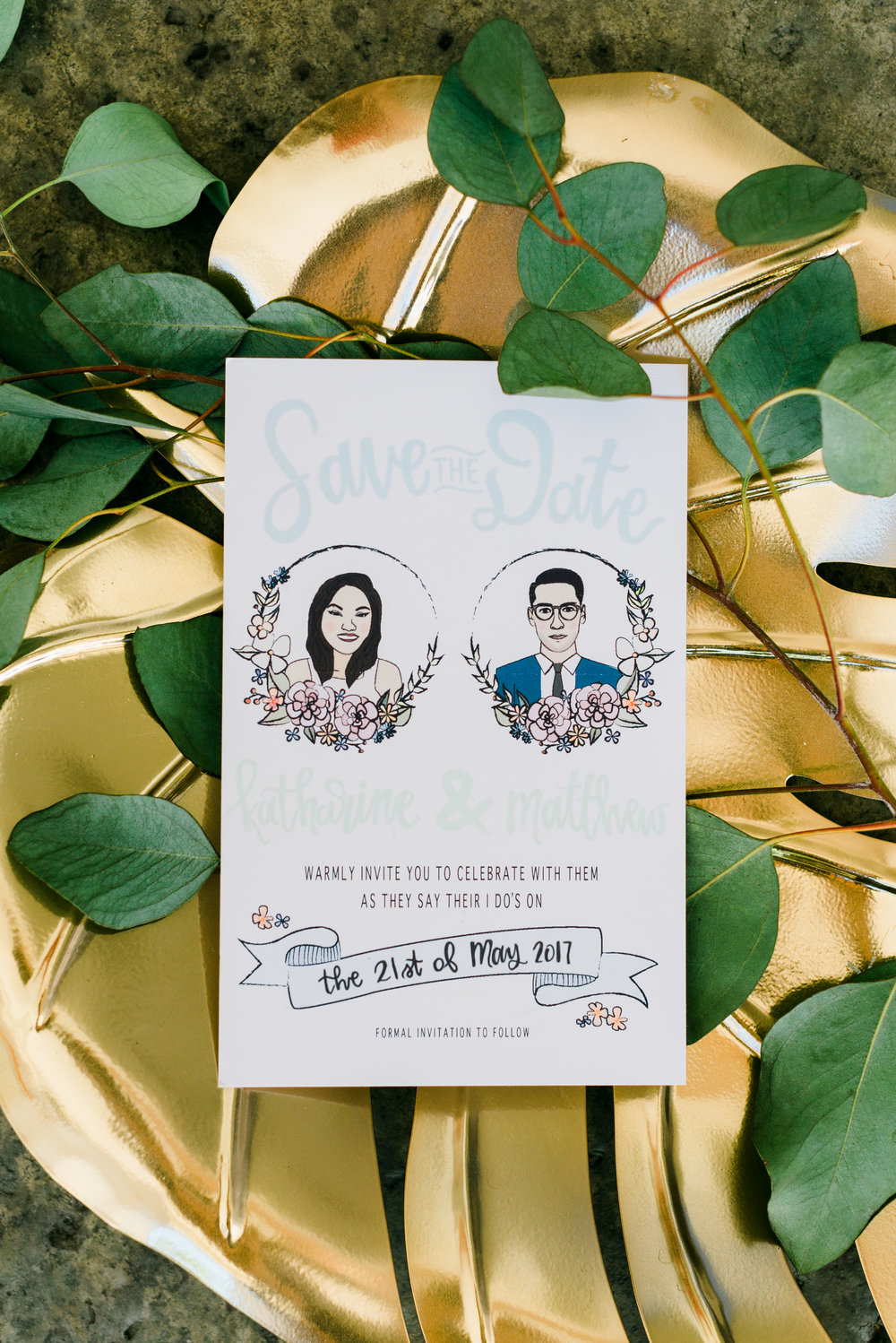 riverside-southern-california-wedding-photographer-ica-images-bride-and-groom-cartoon-savethedate