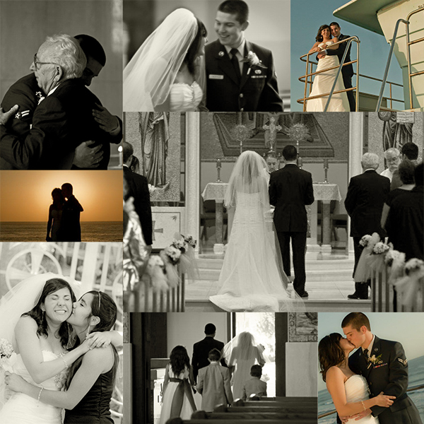 David and Andrea T's Wedding Encinitas, California