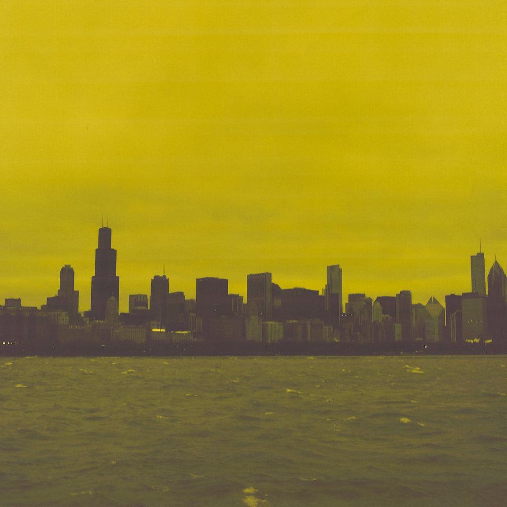 Yellow City Hasselblad 500C f/8 @ 1/60 Lomography Redscale 100