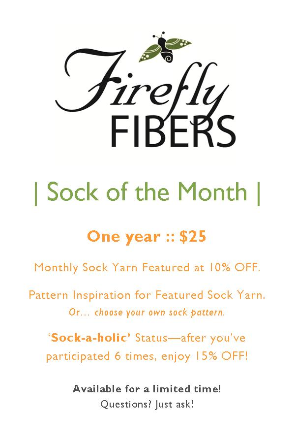 Sock of Month Sign