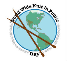 This coming Saturday, June 13th is World Wide Knit in Public Day and we would love for you to join us at Swan Park in Beaver Dam from 10am-1pm for some public knitting! Bring a blanket or chair, your knitting, snacks and beverages (we recommend a quick pit stop at Black Waters Coffee on the way) - you can find us on the Mill St or University Ave areas of the park. We hope you can join us! Note... if the weather isn't cooperative, our backup plan is to knit at the shop.