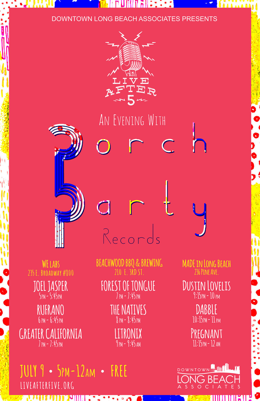 JULY - PORCH PARTY RECORDS