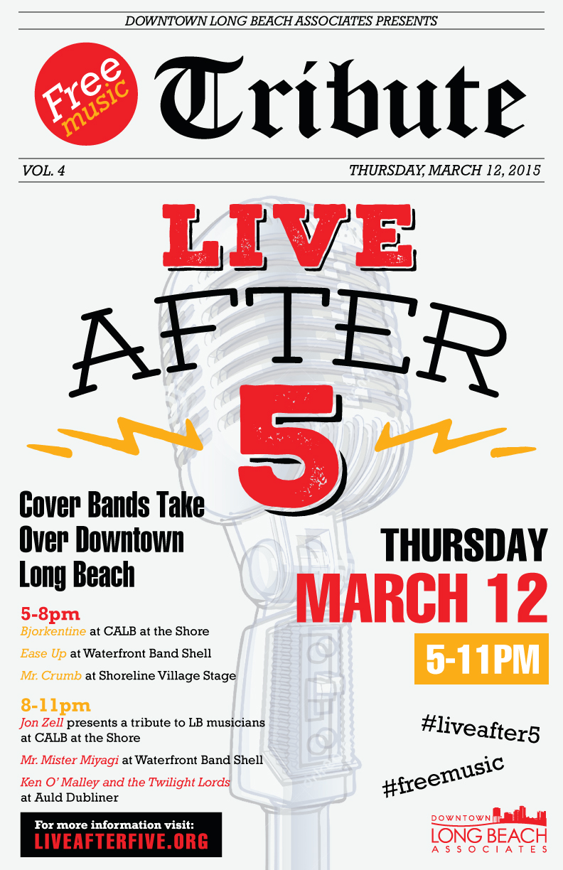 MARCH - TRIBUTE BANDS