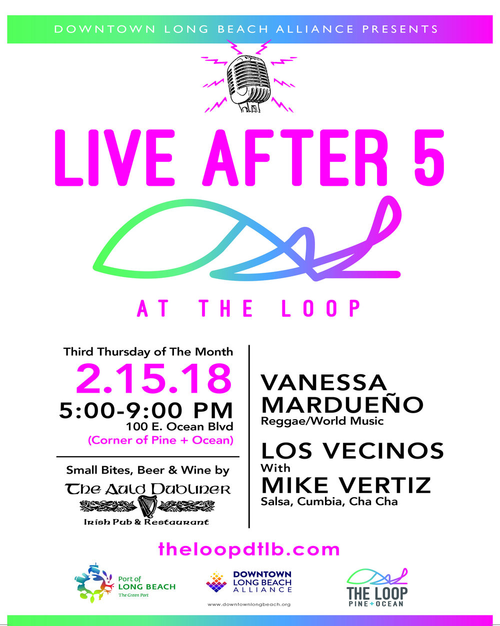 Live After 5 at The Loop - February 15, 2018