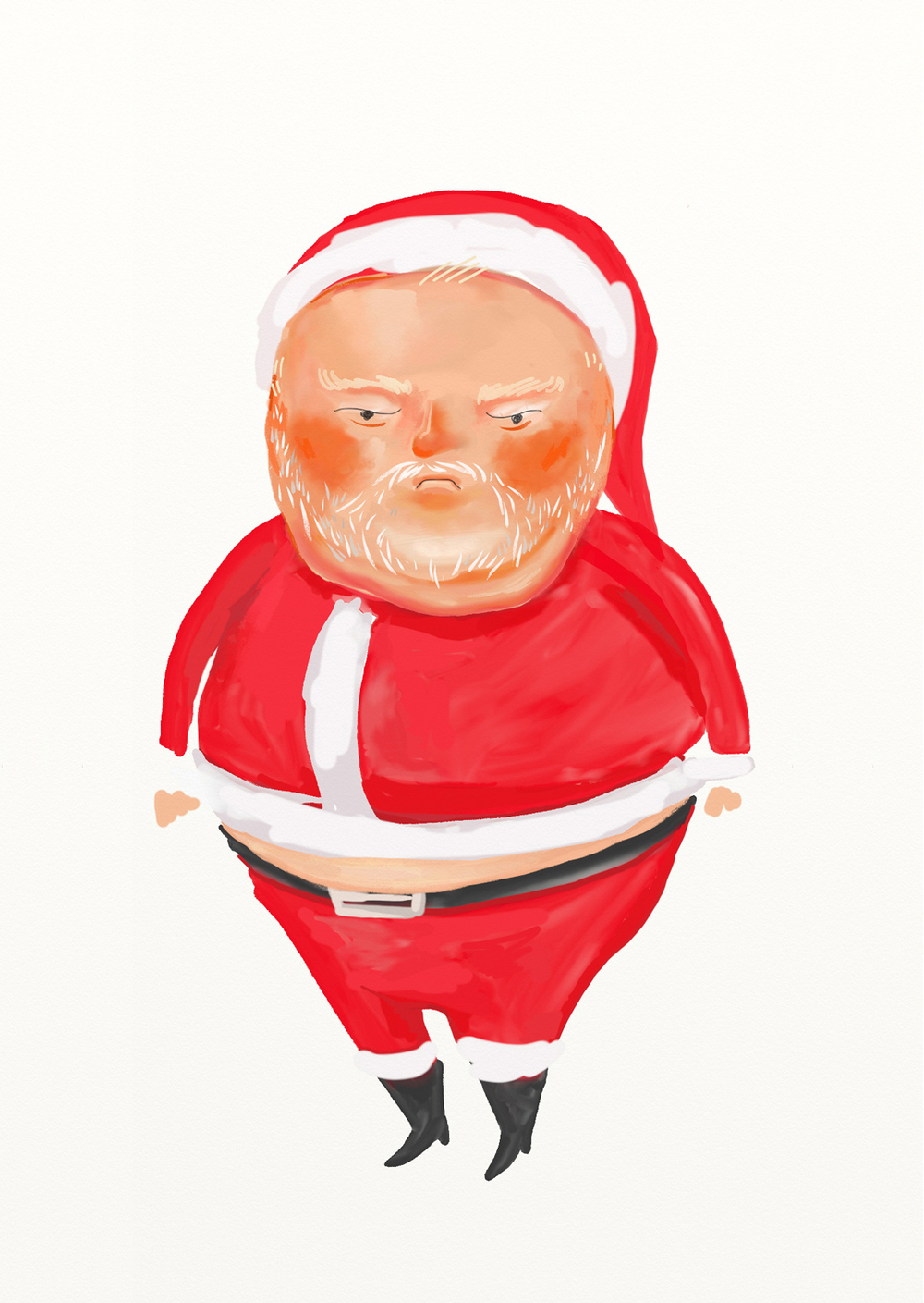 Jolly Ole Rob Ford - illustration for interactive game