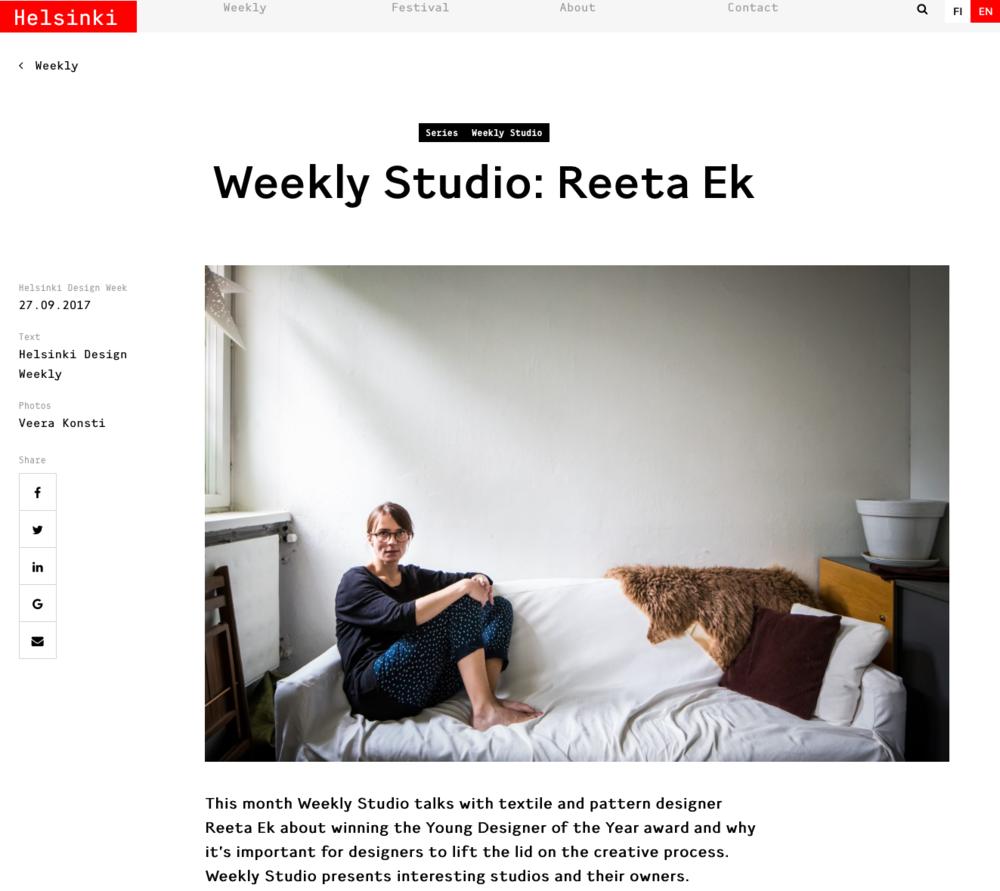 Helsinki Design Weekly_Reeta Ek