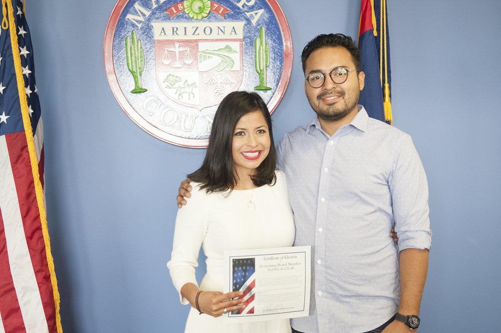 New Osborn Elementary school board member Ylenia Aguilar
