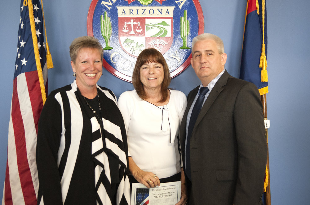 Patty Kennedy and Patti Jo Hussey, Glendale Union High School District