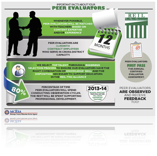 Peer Evaluator Info Graphic