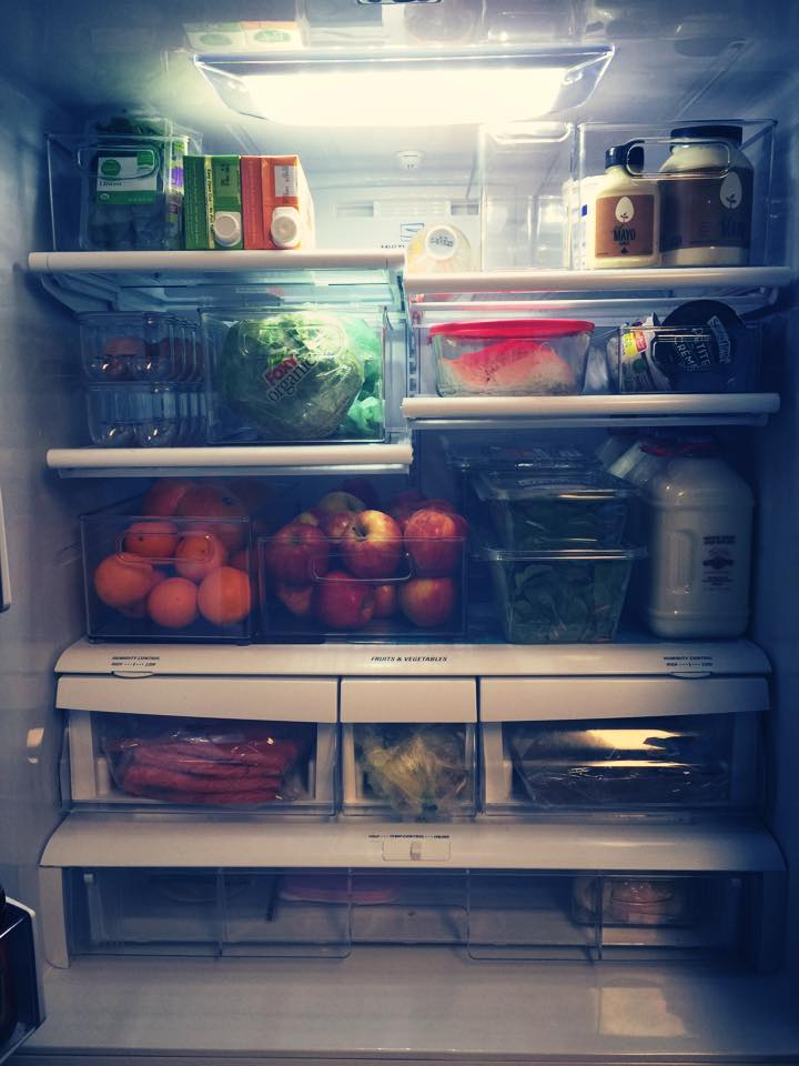 And here is an organized Fridge!