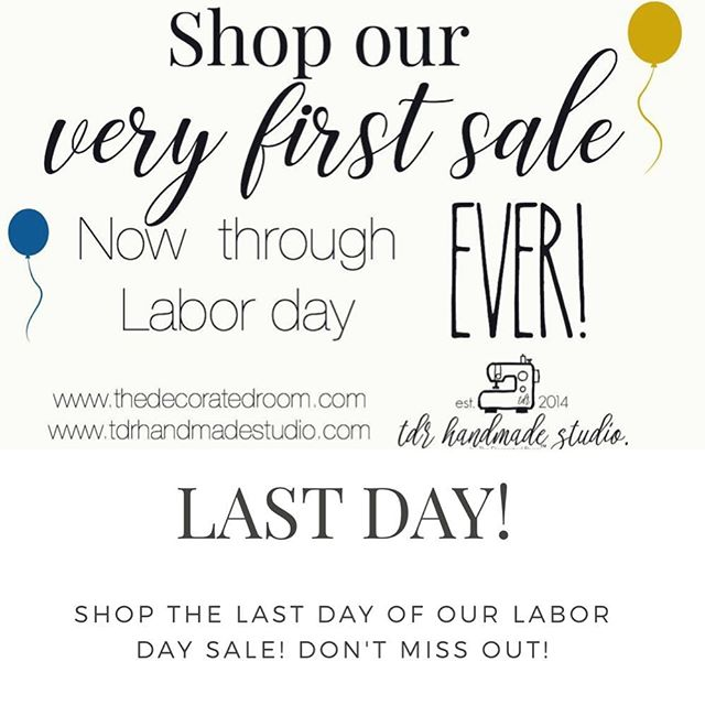 Shop the last day of our very first sale! It has been amazing these past few days! Thanks for supporting a small family business! . . . . . . . . . #thankyou #trulygrateful #etsysale #love #lovewhatwedo #personalizedgoods #handmadewithlove #handmade #customwedding #rusticdecor #rusticbaby #nurserydecor #babygifts #weddingnecessities #etsyhome #etsysale #etsystyle #etsyhandmade #etsylove #shopsmall #shoplocal #familyownedbusiness #vetownedbusiness #tdrhandmadestudio #tdrhandmade #thedecoratedroom