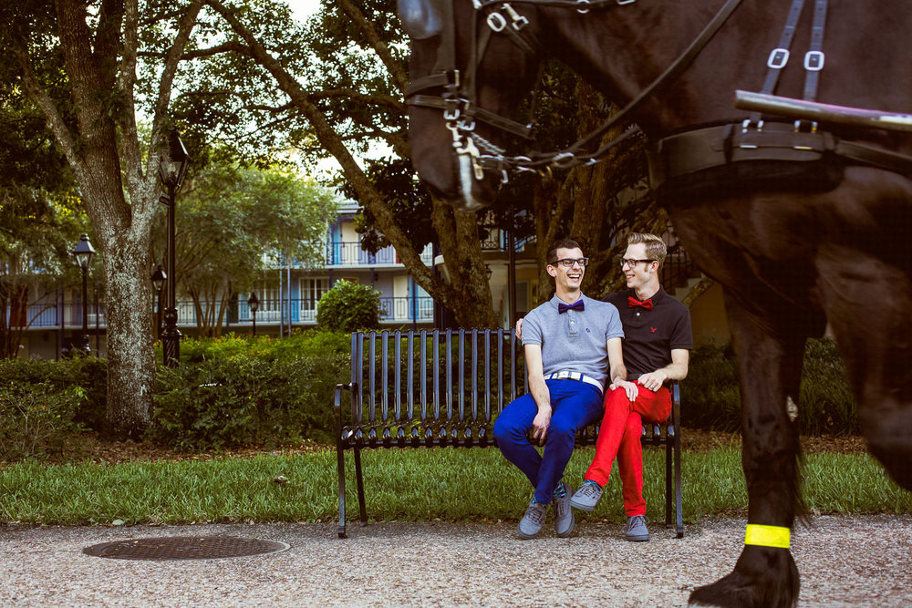 Port Orleans Gay Engagement Session