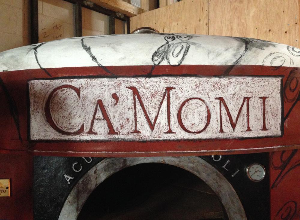 Ca'Momi pizza oven, design stage