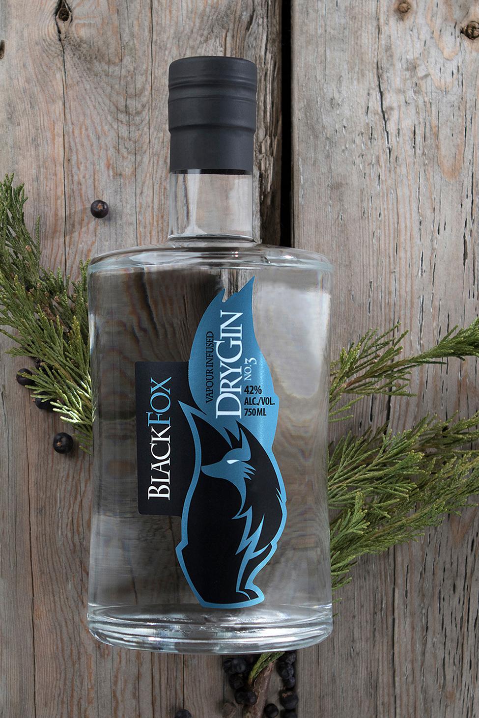 Black Fox Gin - Hand Crafted & Single Batch