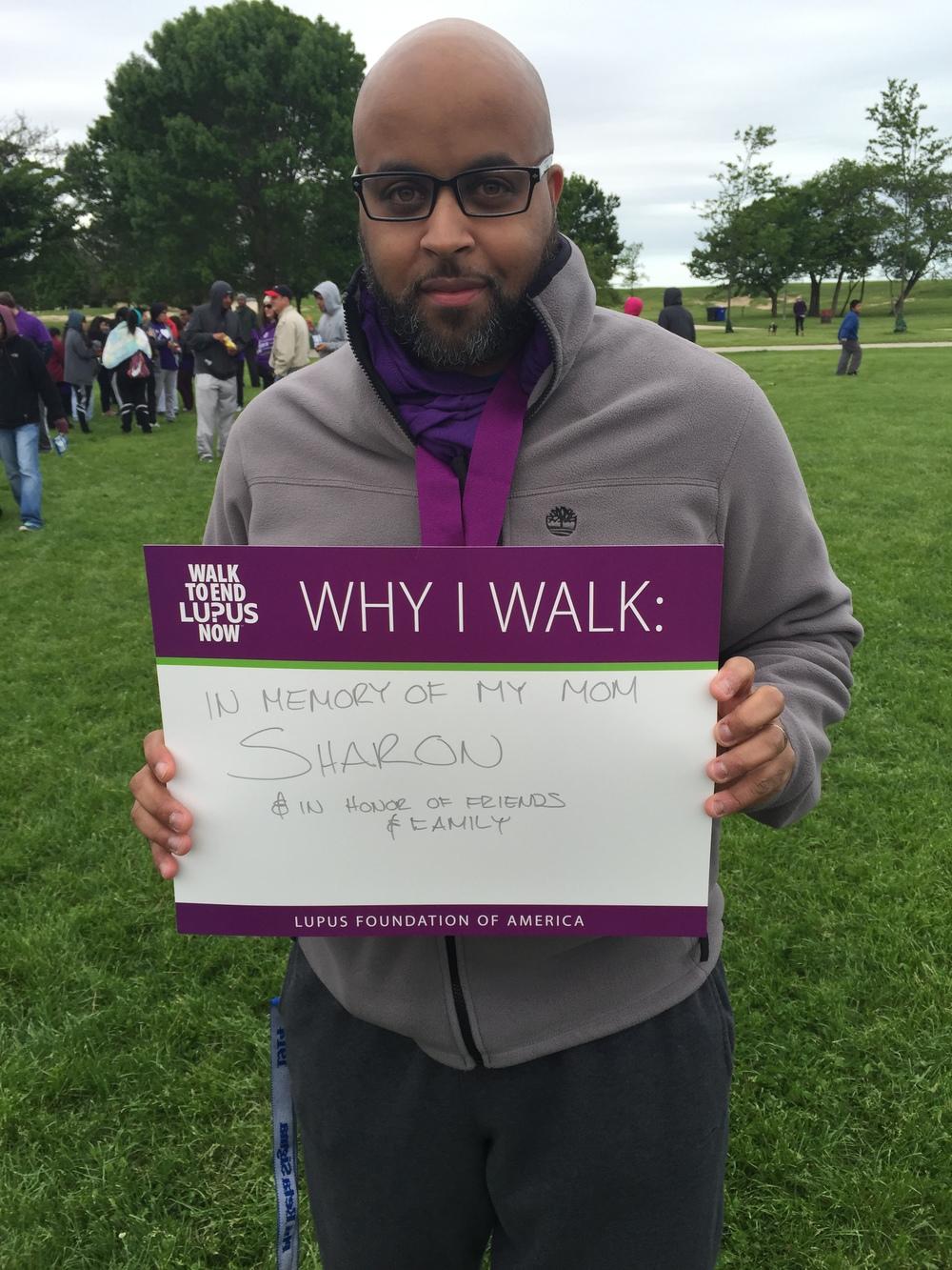 Why I walk.