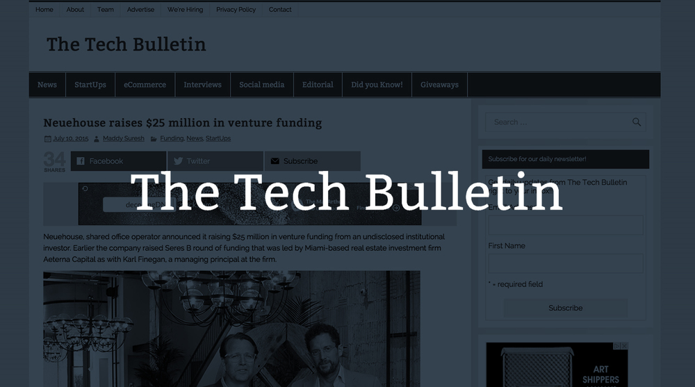 The Tech Bulletin