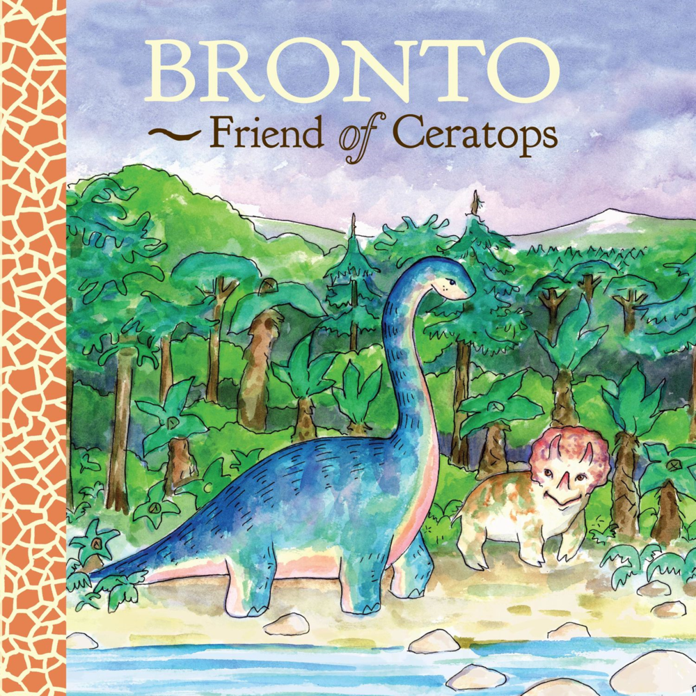 BRONTO, FRIEND OF CERATOPS  $14.99