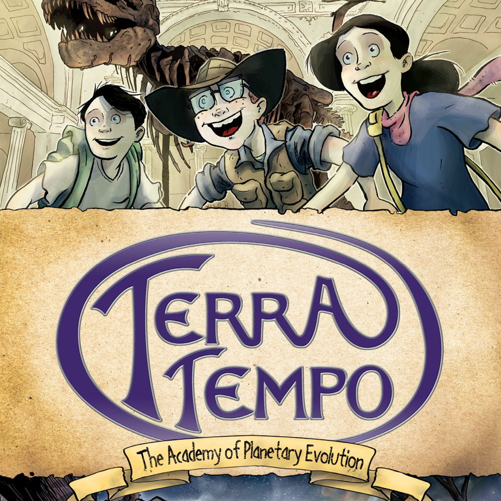 TERRA TEMPO: THE ACADEMY OF PLANETARY EVOLUTION     $17.99