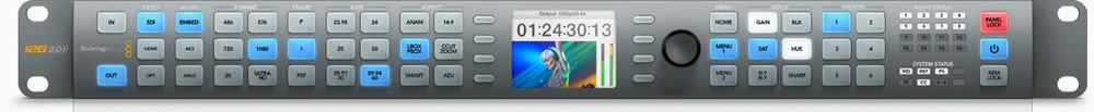 BlackMagic Design Teranex Broadcast SD to HD Hardware Encoder.