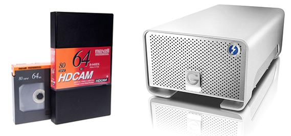 Professional HDCAM / SR Transfer to Digital file in Los Angeles, CA
