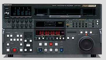 We Use Sony DVW-A500 Professional Broadcast VTR Decks