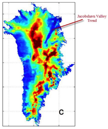 Greenland Ice Melt Geothermal, Not Man-made — Plate climatology