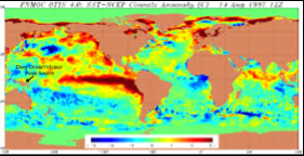 Emerging El Nino Fueled By Deep Ocean Geological Forces - West pacific islands map 1998
