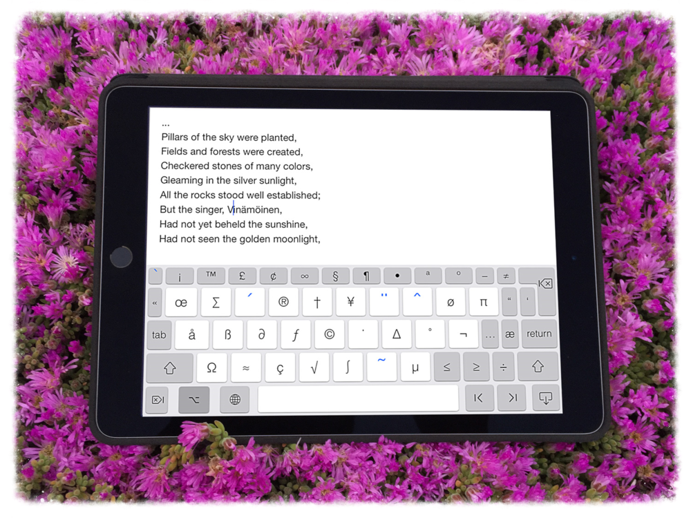 PadKeys iPad Keyboard app is the best keyboard app for editors, professionals and students that need a seamless full keyboard in order to increase their productivity and speed.