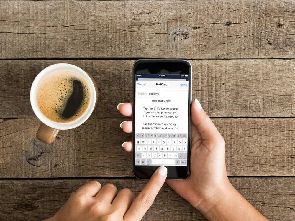 Finally   A (Real) keyboard    for your iPhone