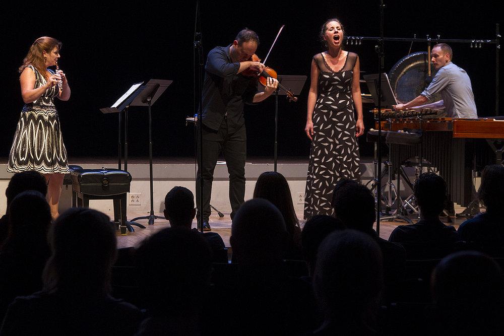 Kate Soper and Wet Ink Ensemble, 2015