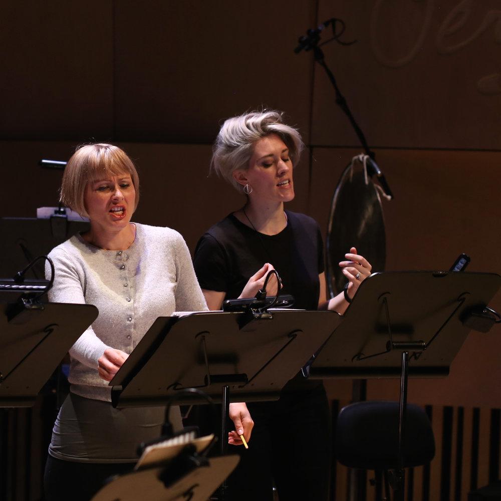 Melbourne 2017 Jess Aszodi and Lucy Dhegrae.jpg