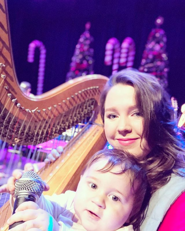 Gone from TN to OH to VA to PA to MD to NJ to SC with this little sweetheart. #soundcheck #christmas #anniemosesband