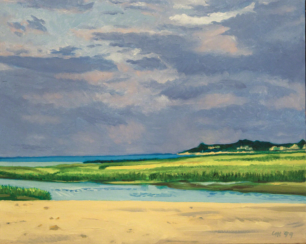 Storm on the Cape, oil on canvas, 1999
