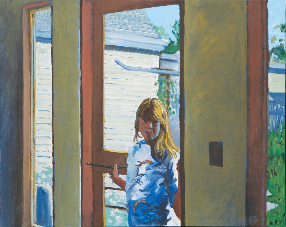 Quenby in Maine, acrylic on canvas, circa 1983