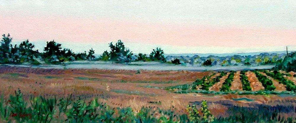 Morning Mist, oil on canvas, 2003