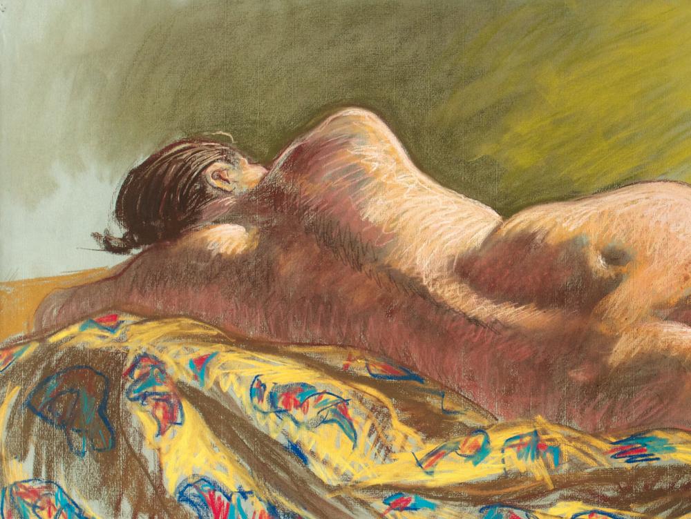 Toni, pastel on paper, 1997