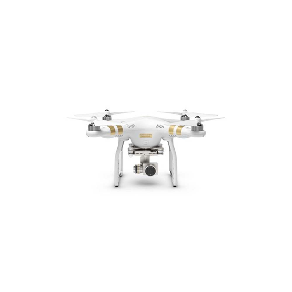 "DJI Phantom 3 Professional  Often deemed the ""go-to"" for a variety of reasons, the Phantom 3 Professional is small, lightweight and capable of producing imagery on a high level. The pilot of the Phantom 3 serves as the pilot and camera operator with this UAV while maneuvering the bird itself to achieve creative camera movement."